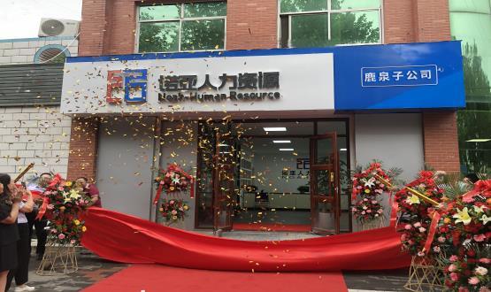 完善区域布局! 诺亚人力资源鹿泉子公司盛大开业